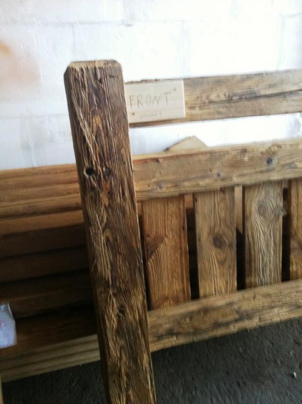 Balcon En Bois Pour Chalet : le vieux bois ou bois de r?cup?ration est un produit d une